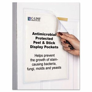 "Display Pockets, 8 1/2"" x 11"", Polypropylene, 10/Pack"