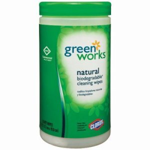 Green Works Wipes 62-ct Canisters
