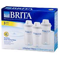 Brita 35503 Pitcher Replacement Filter, For Use With 68389, 6035455, 6063986 Model Pitchers