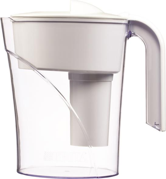 Clorox 35507 Water Filtration Pitchers, Classic, White