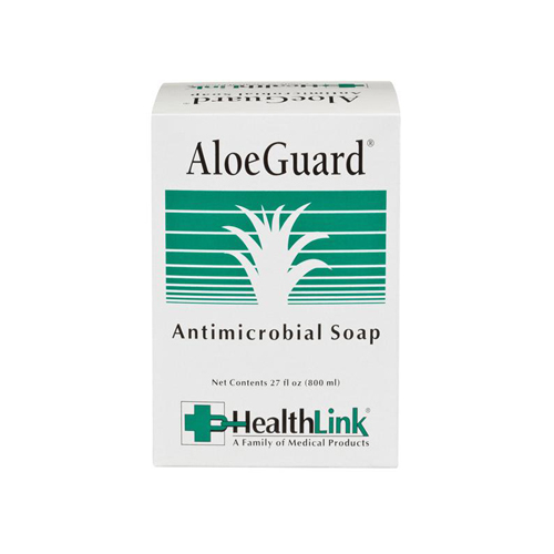 AloeGuard� Antimicrobial Soap, Aloe Scent, 27 oz Bag, 12/Carton