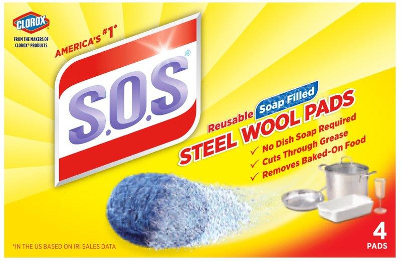 98041 4CT SOS SOAP PADS