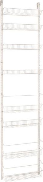 18IN 8TIER ADJUSTABLE WALL RACK