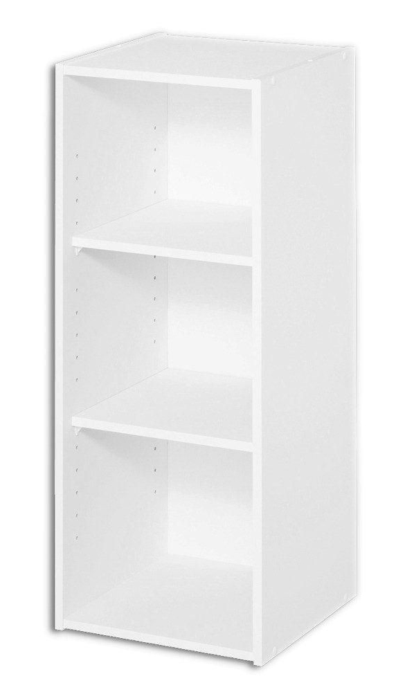 Closetmaid 8987-00 Stackable Open Storage Organizer, 12 in L x 31-1/2 in W x 12 in H, Wood