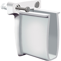 Closetmaid 932 Pre-Loaded End Bracket