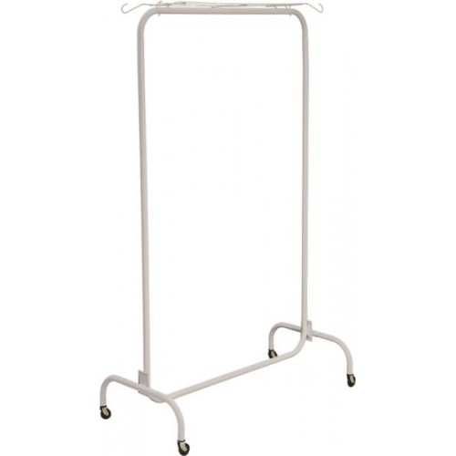 Closetmaid 1090 Portable Garment Rack, 67-3/4 in H x 40-1/2 in W x 18 in D, Steel, White