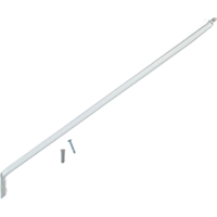 Closetmaid 71925 Support Bracket, 12 in L x 2 in W x 2 in D, Steel, White