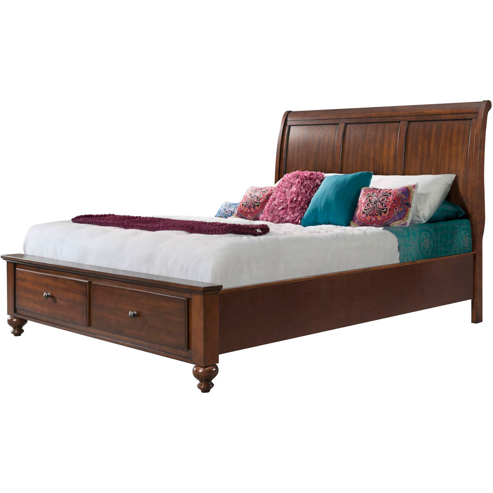 Newport Storage Queen Bed