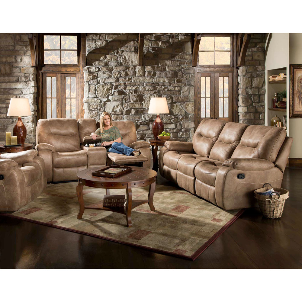 Homestead 3PC Living Set: Sofa, Loveseat, Recliner