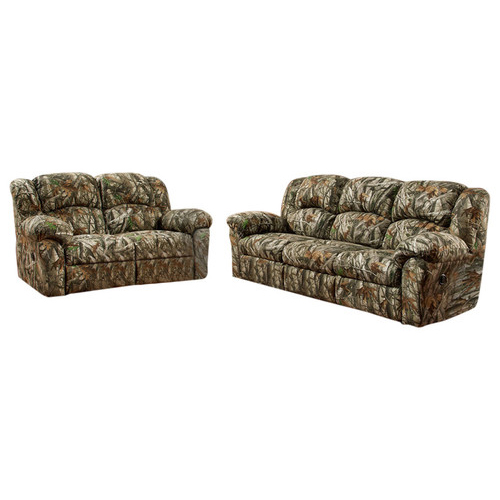 Camo 2pc Living Set: Sofa, Loveseat