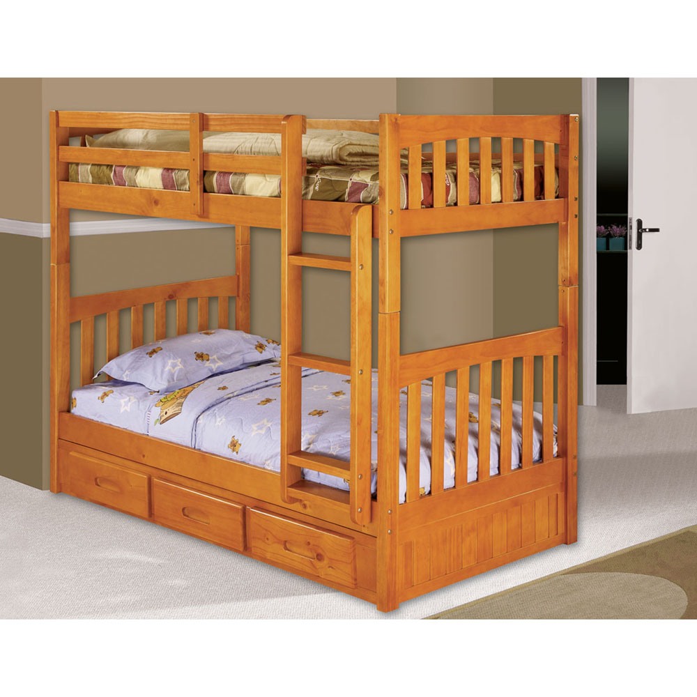Optional Underbed Twin Trundle ONLY (not a bunk bed)