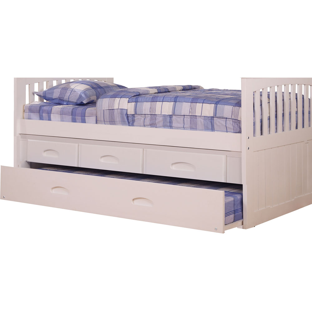Optional Underbed Twin Trundle