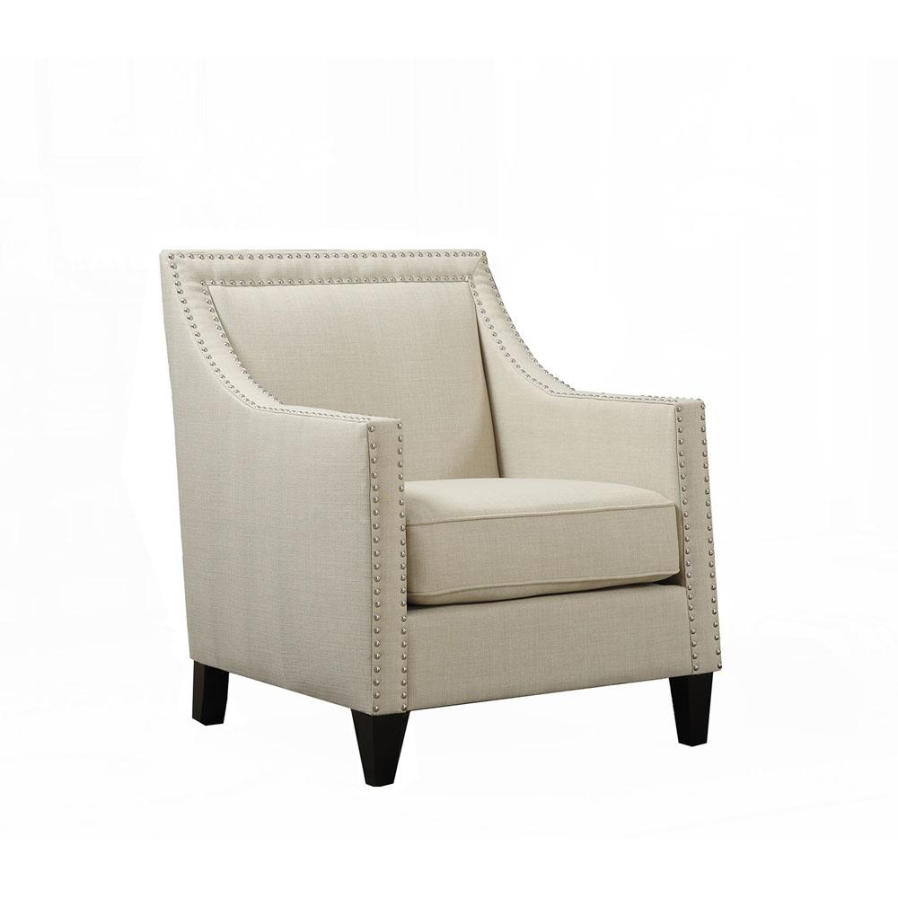 "Bridgehampton Accent Chair w/ Nail Trim, 29""Wx31""Dx35.5""H"