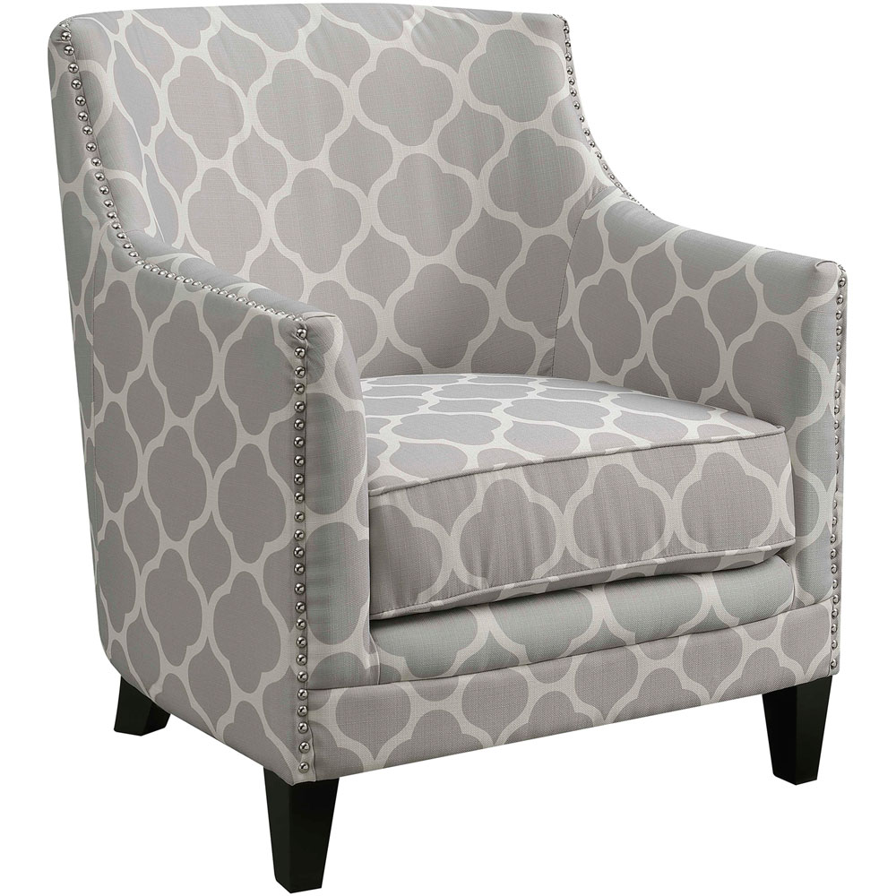 "Nissi Accent Chair w/ Nail Trim, 30""Wx30""Dx33""H"