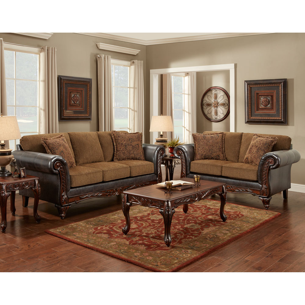 Thornton 2PC Set: Sofa and Loveseat