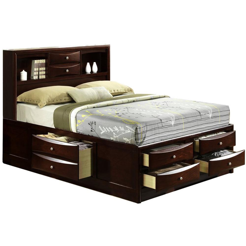 Orleans Storage Queen Bed