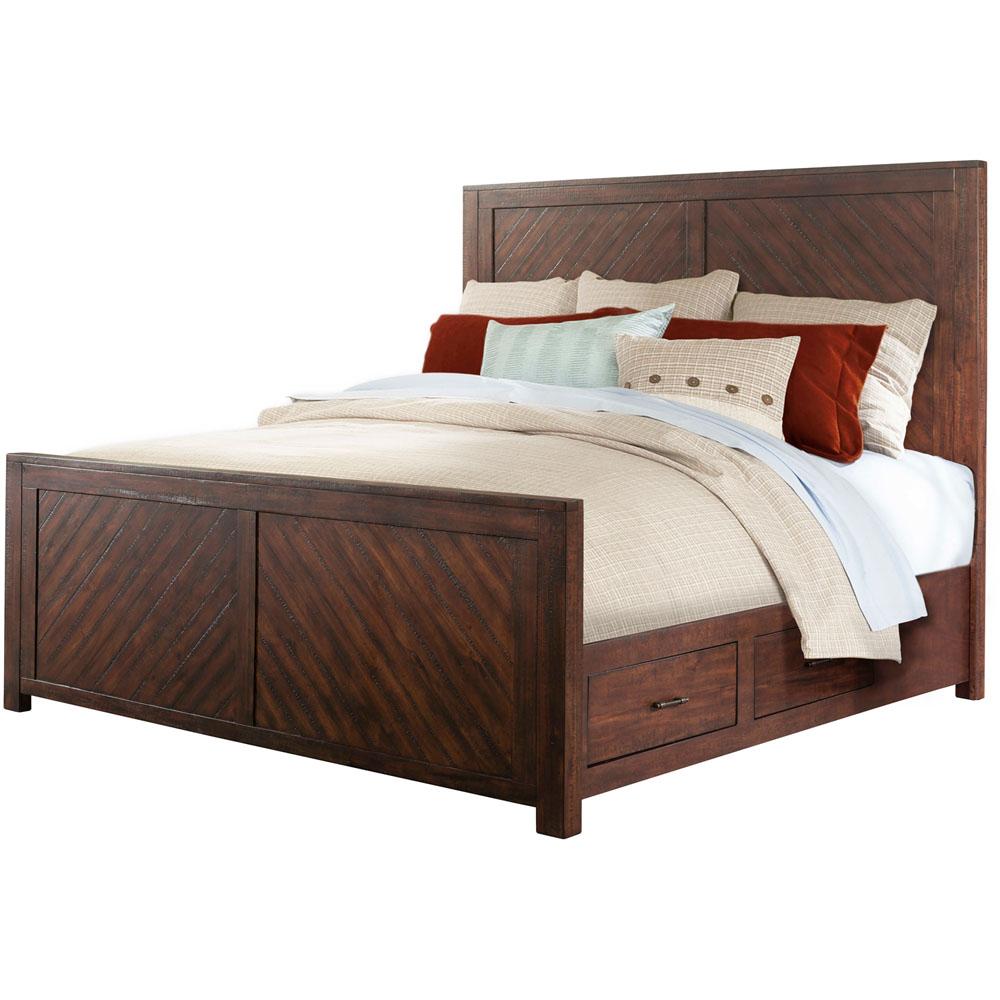 Montana Storage Queen Bed