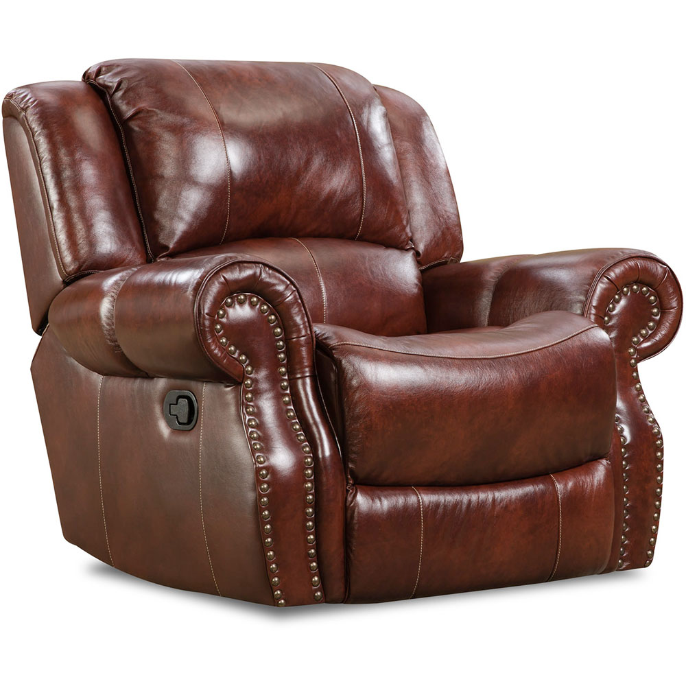 Telluride 100% Leather Rocker Recliner
