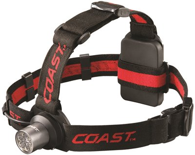 COAST� 6-CHIP LED HEADLAMP, 175 LUMENS, USES 3 AAA BATTERIES (INCLUDED)