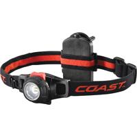 Coast HL7 Adjustable Head Lamp, LED, Hinged, Bulls Eye Spot Pattern Beam