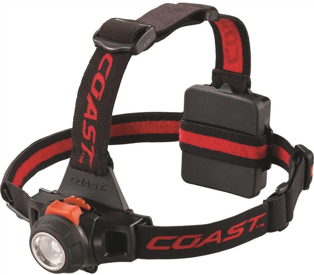 COAST� HL27 LED HEADLAMP, PURE BEAM FOCUSING, BLACK