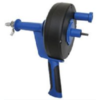 Cobra 86150 Drain Drum Auger, For Use With Clearing Sink, Shower and Tub Drains, Plastic