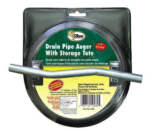 PROPLUS DRAIN AUGER 1/4 IN. X 8 FT.