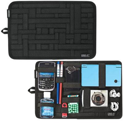 "COCOON CPG10BK 8"" x 12"" GRID-IT! Organizer (Black)"