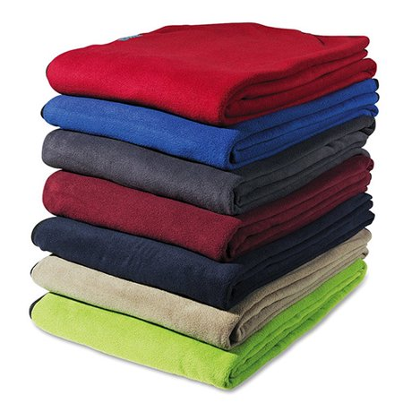 Cocoon Fleece Blanket, Cherry