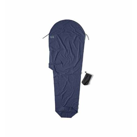 Cocoon Flannel Mummy Liner, Blue/Green