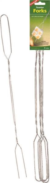 Coghlan?s 8975 Twisted Wire Toaster Fork, 20 in L, Chrome