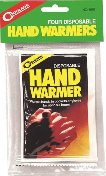 HAND WARMERS DISPOSABLE 4 PACK