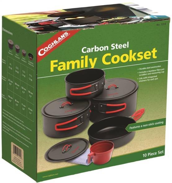 Coghlan'S 1314 Non-Stick Family Cookset