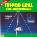 Coghlan?s 9340 Lantern Hanger Tri-Pod Grill Adjustable to 34 in H, Galvanized Steel Legs, Steel Grill and Chain