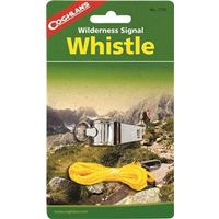 Coghlan'S 7735 Camp Whistle With Lanyard, Nickel