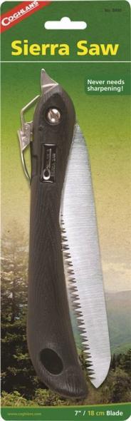 Coghlan?s 8400 Sierra Saw, 7 in L X 16 in L, Steel