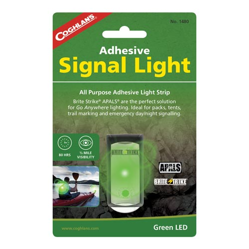 Coghlan's Adhesive Signal Lights, Green