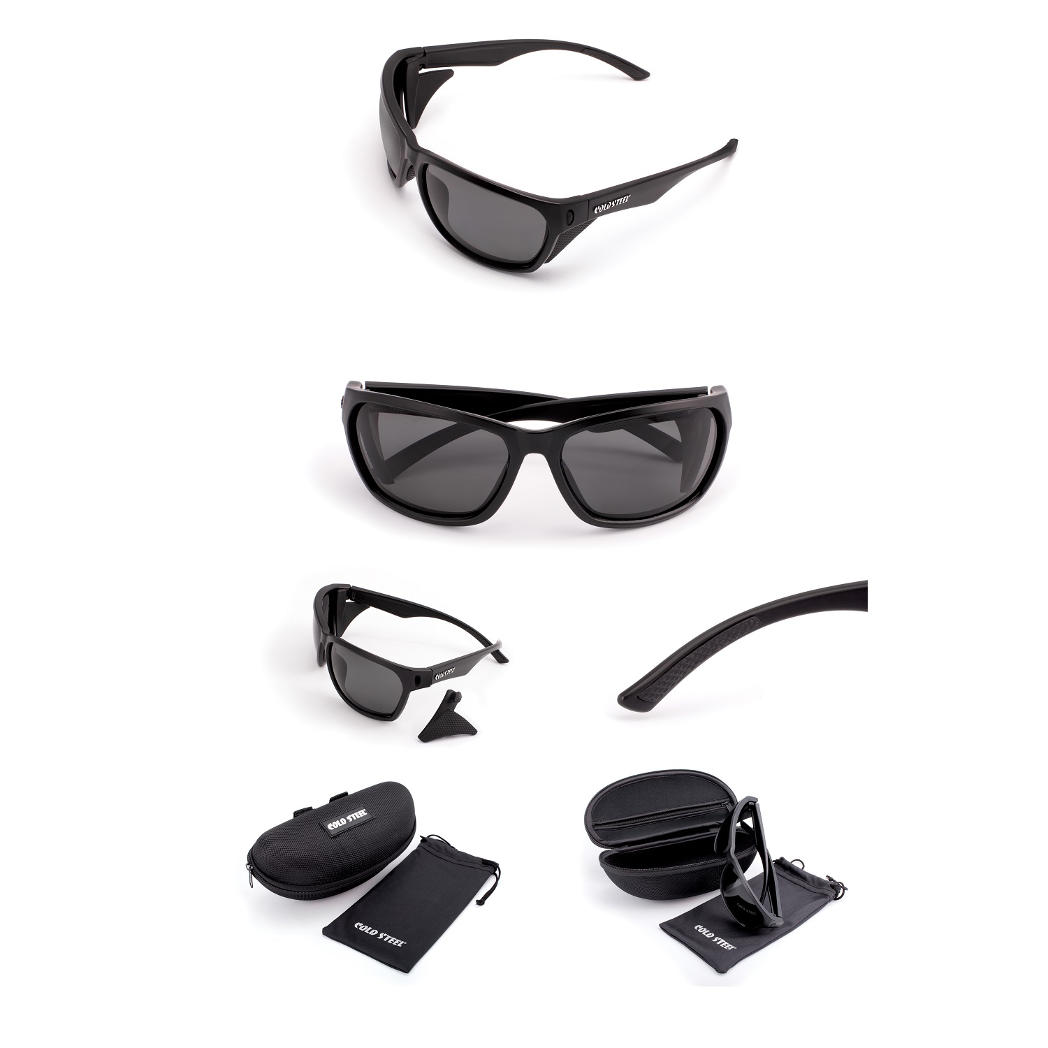 Battle Shades Mark III,Black Matte Frame,Gray Polarized Lens