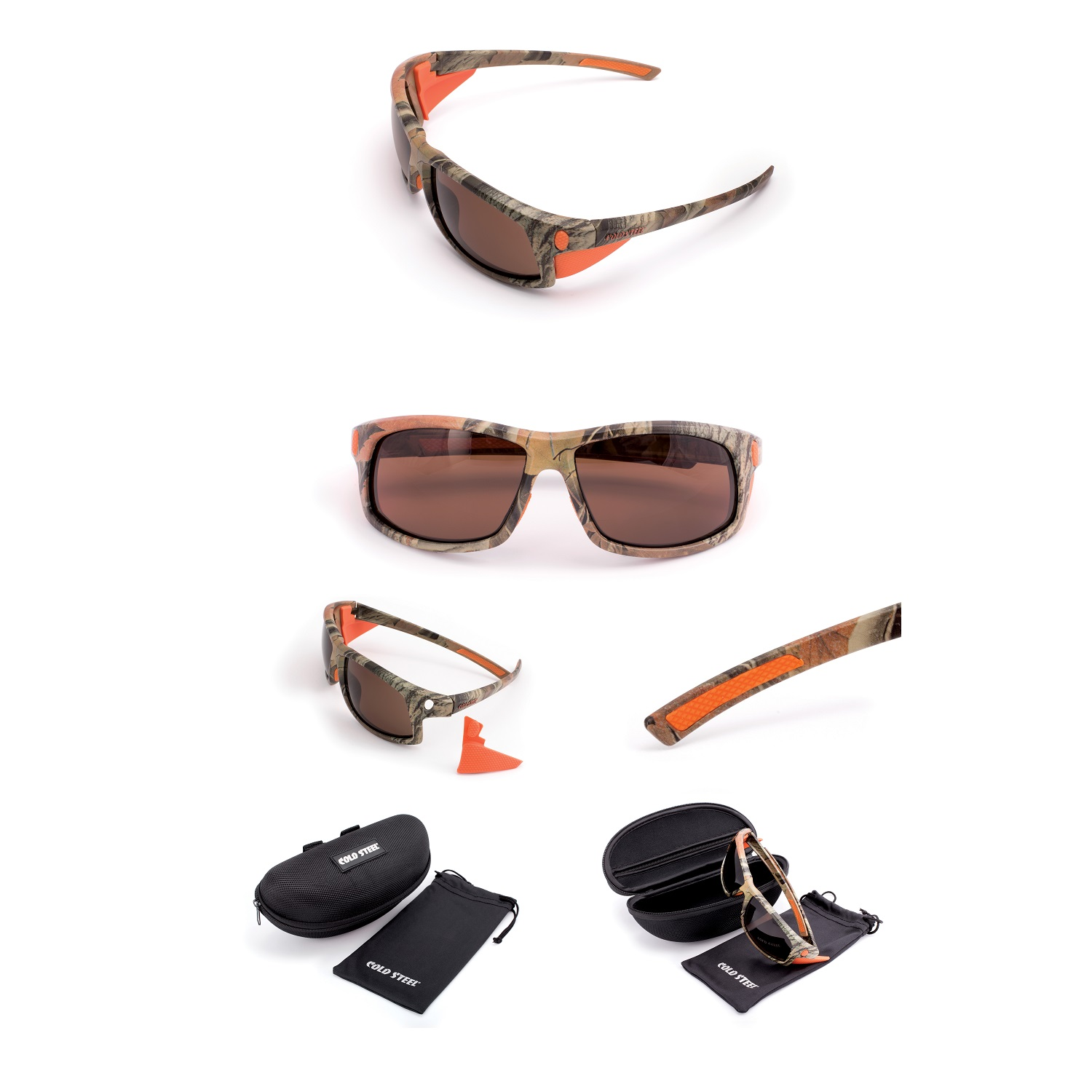 Battle Shades Mark I, Cammo Frame, Brown Lens
