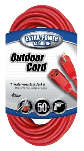 50 FEET 14/3-INCH OUTDR EXT CORD