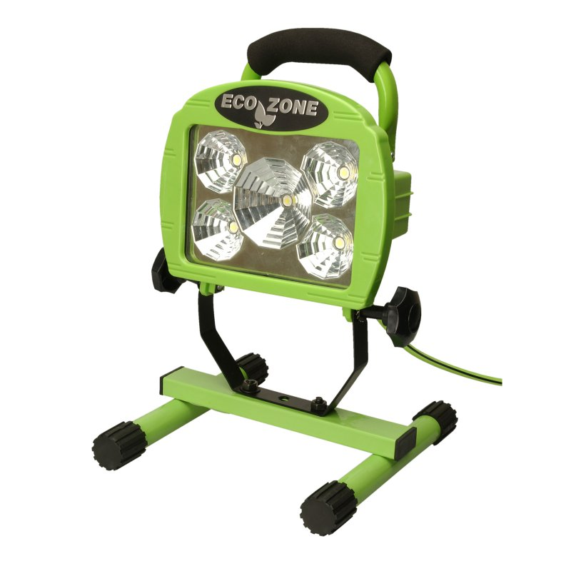 5x1W LED Worklight, Green, 120-Volt