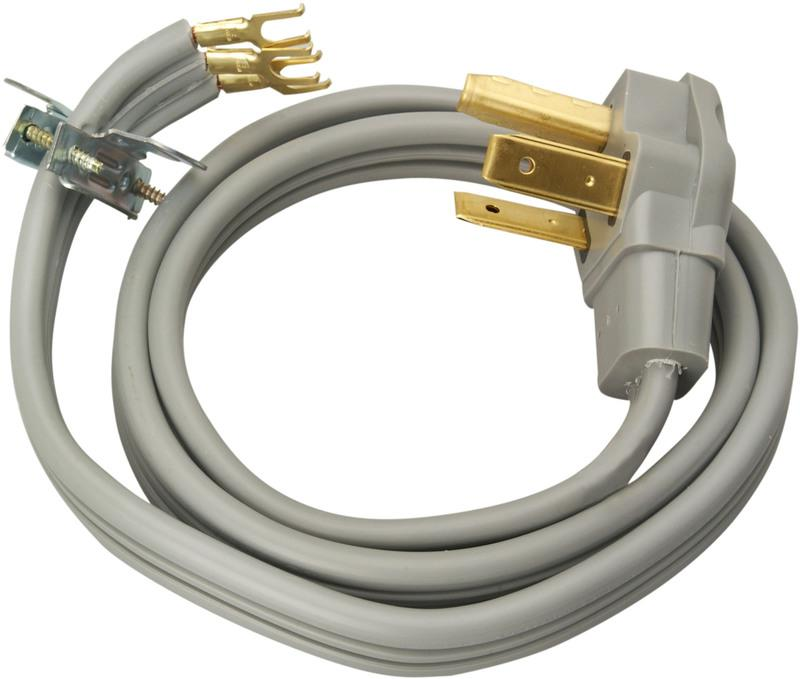 09124 10/3 30A 4 FT. DRYER CORD