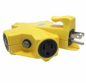 997362 YELLOW 5-OUTLET ADAPTER