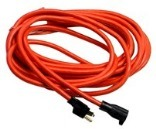 014/3 25 Ft. Red Extension Cord