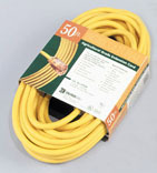 012/3 50 Ft. Yellow Extension Cord