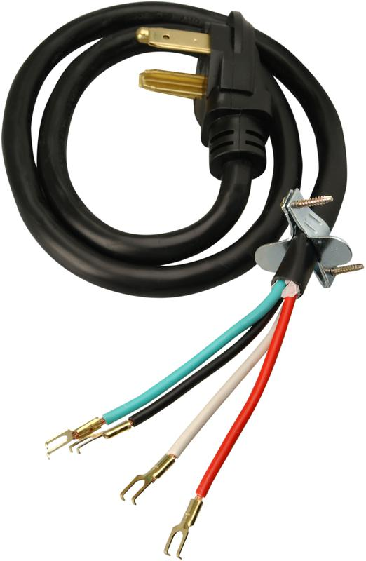 09154 10/4 30A 4 FT. DRYER CORD