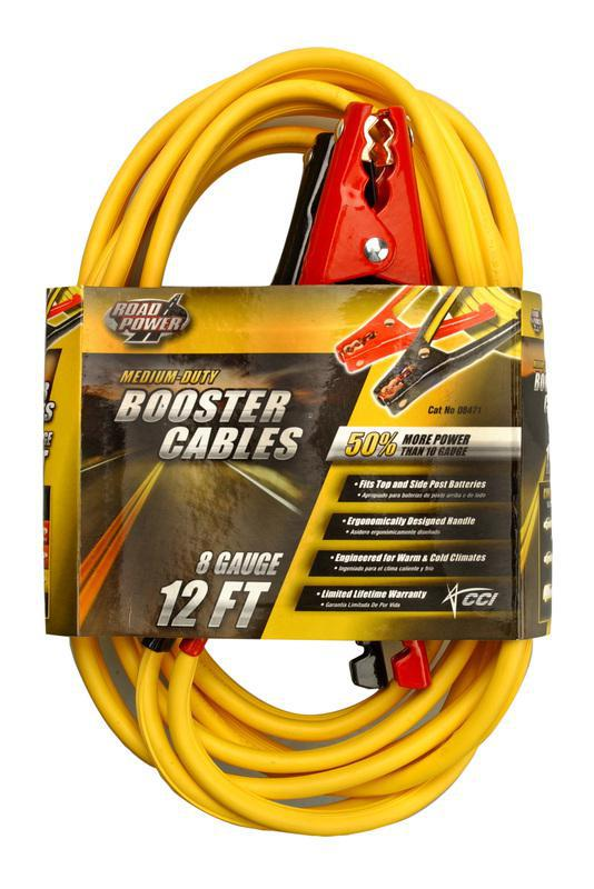 12 FEET 8 GALLONS BOOSTER CABLE