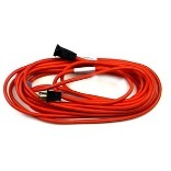 016/2 25 Ft. Orange Extension Cord