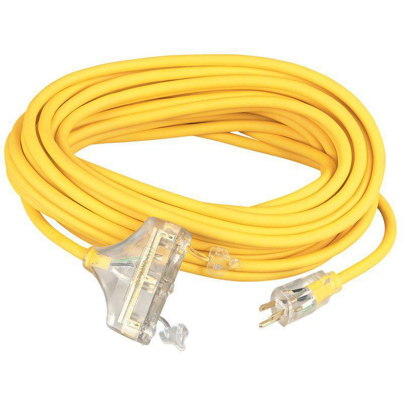 04189 12/3 100 FT. YEL PW BL CORD