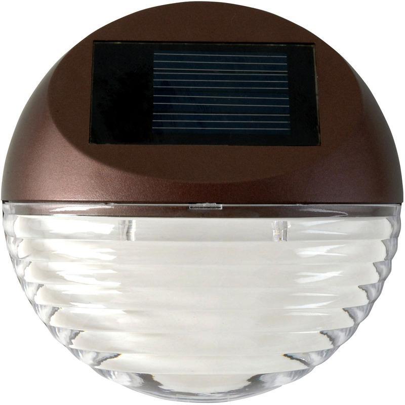 95027 LED SOLAR DECK LIGHT